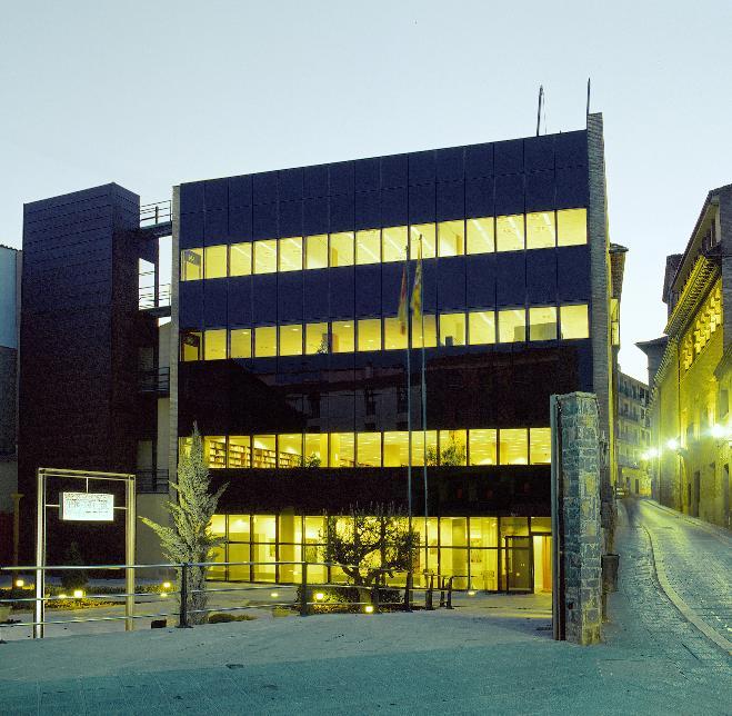 Edificio de la UNED Barbastro